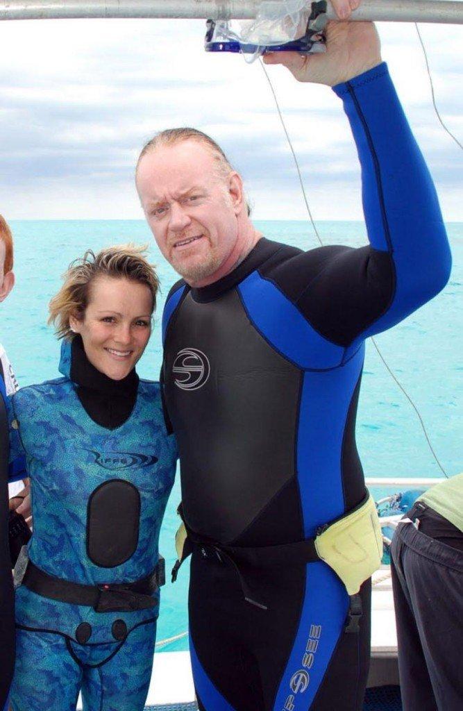 Celebrity Shark Divers